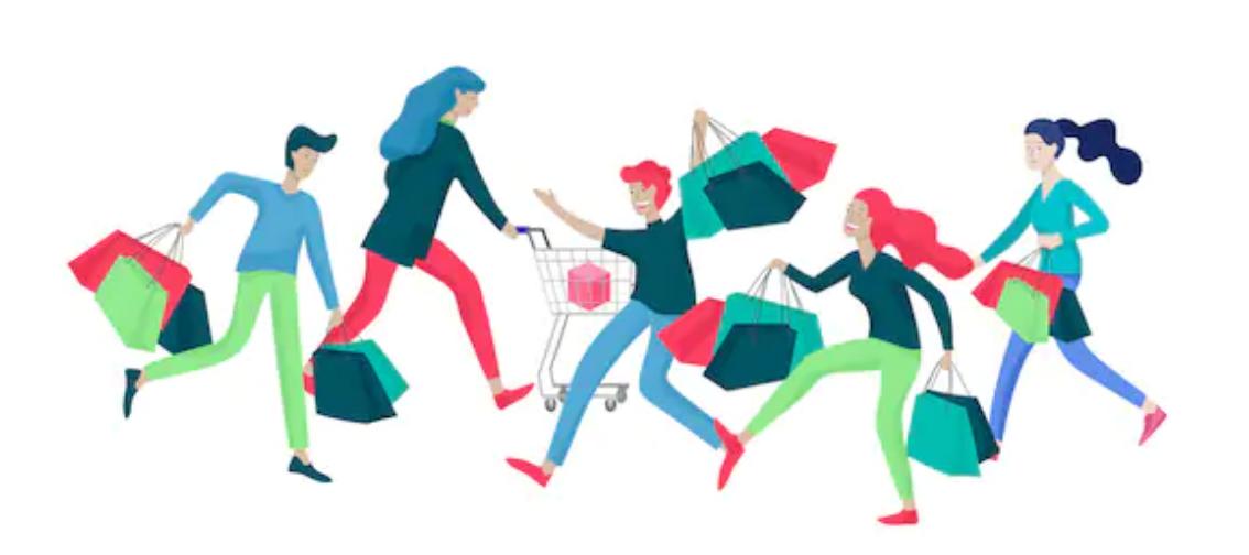Alışveriş çılgınlığından arda kalanlar
