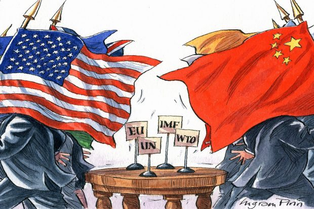 Çin – ABD  Gölge Oyunu